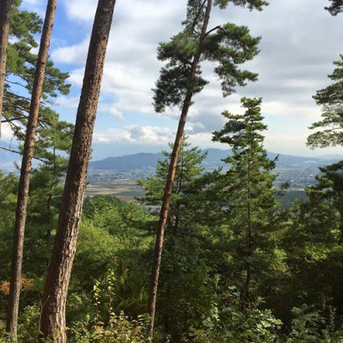塩田平の眺望